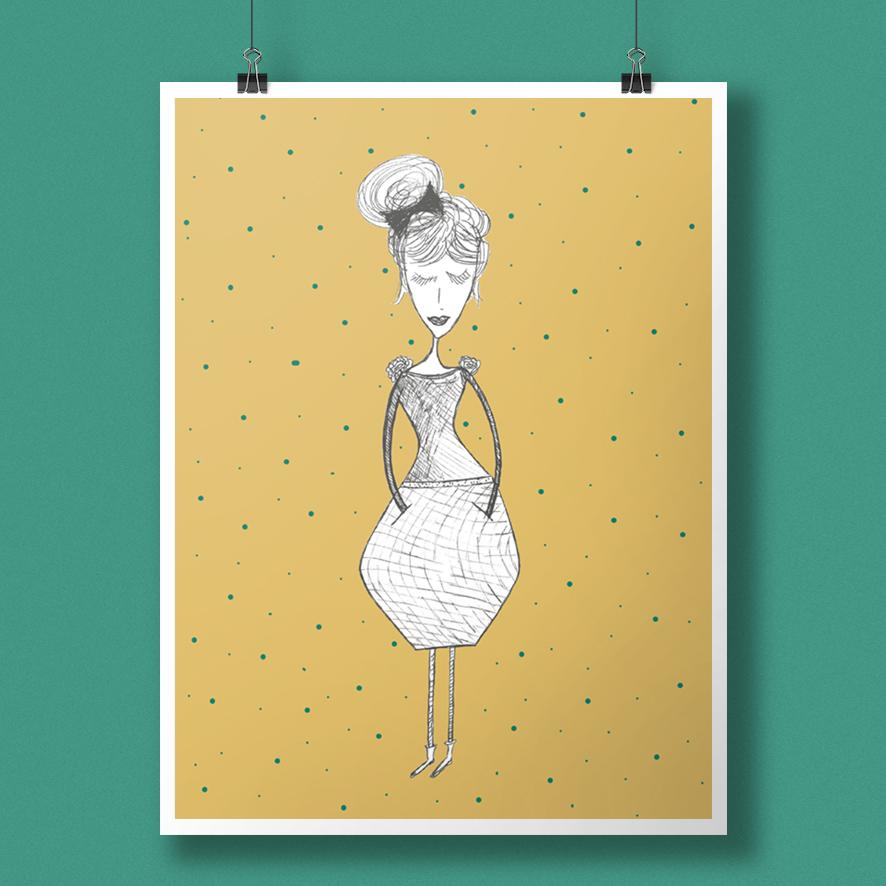 yellowwoman-lina-mohr